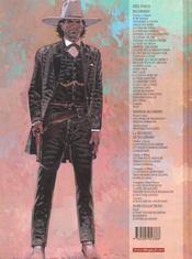 BLUEBERRY ; Blueberry t.27 ; ok corral - 4ème de couverture - Format classique