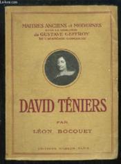 David Téniers - Couverture - Format classique
