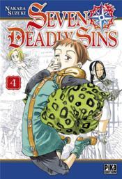 Seven Deadly Sins T.4 - Couverture - Format classique