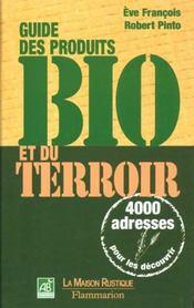Guide Des Produits Bio Et De Terroir - Intérieur - Format classique