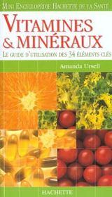 Vitamines Et Mineraux - Intérieur - Format classique