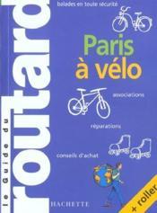Paris A Velo - Couverture - Format classique