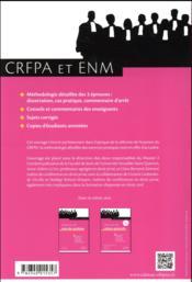 Les épreuves de droit civil ; méthodologie des épreuves, sujets corrigés et commentés, copies d'étudiants - 4ème de couverture - Format classique