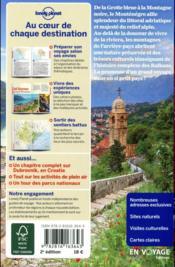Monténégro (2e édition) - 4ème de couverture - Format classique