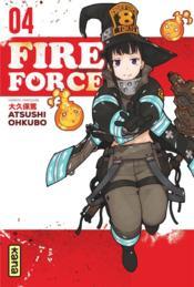 Fire force T.4 - Couverture - Format classique