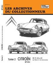 Citroen Ds 19-20-21 (A Fin Fabrication)