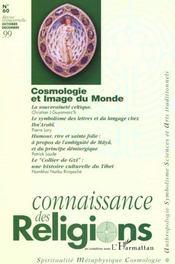 Revue Connaissance Des Religions N.60 ; Cosmologie Et Image Du Monde - Intérieur - Format classique