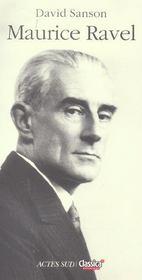 Maurice Ravel. - Intérieur - Format classique