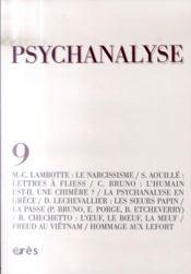 Psychanalyse t.9 - Intérieur - Format classique