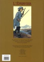 L'Epervier T.1 ; le trépassé de Kermellec - 4ème de couverture - Format classique