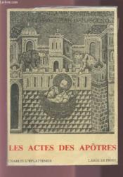 Actes des apotres - Couverture - Format classique
