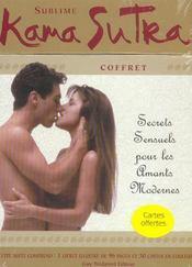 Coffret Sublime Kama Sutra ; Secrets Sensuels Pour Amants Modernes - Intérieur - Format classique
