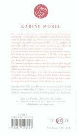 Autobiographie D'Un Fantasme - 4ème de couverture - Format classique