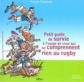 Petit guide de survie à l'usage de ceux qui ne comprennent rien au rugby - Intérieur - Format classique