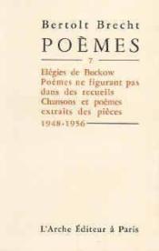 Poemes t.7 (1948 1956) - Couverture - Format classique