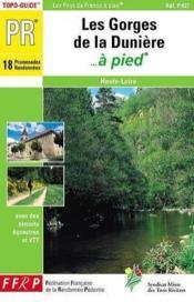 Pays des gorges de la duniere a pied 2005 - 43-pr-p437 - Couverture - Format classique