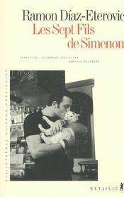 Les Sept Fils De Simenon - Intérieur - Format classique