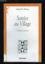 Soirees au village - Couverture - Format classique
