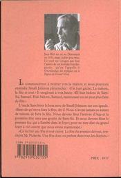 La maison de mes peres tome 3 - 4ème de couverture - Format classique
