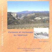 Paysans et paysages du Ventoux - Couverture - Format classique