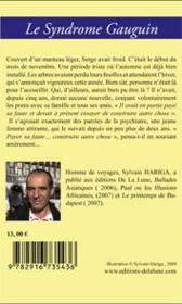 Le syndrome Gauguin - 4ème de couverture - Format classique
