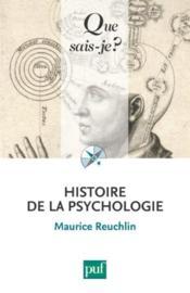 Histoire de la psychologie (2e édition) - Couverture - Format classique