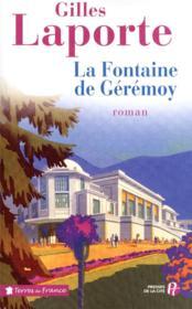 La fontaine de Gérémoy - Couverture - Format classique