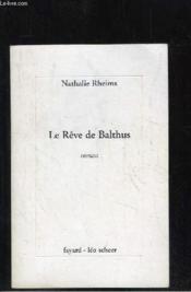 Le rêve de Balthus - Couverture - Format classique