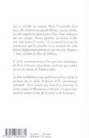 Le rêve de Balthus - 4ème de couverture - Format classique