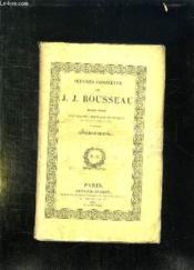 Oeuvres Completes De Jj Rousseau Tome 1. Discours. - Couverture - Format classique