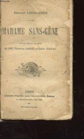 Madame Sans-Gene - Couverture - Format classique