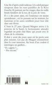 Guinguette A Deux Sous - 4ème de couverture - Format classique