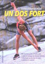 Entrainement Pour Un Dos Fort - Intérieur - Format classique
