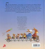 Le jardin de dentdelion passiflore - 4ème de couverture - Format classique
