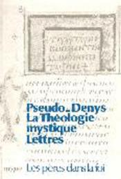La theologie mystique - lettres - Couverture - Format classique