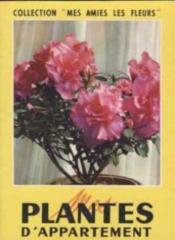 Plantes d'appartement - Couverture - Format classique