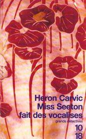 Miss Seeton Fait Des Vocalises - Intérieur - Format classique