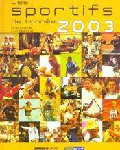 Les Sportifs De L'Annee 2003 - Intérieur - Format classique