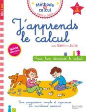 J'apprends le calcul avec Sami et Julie - Couverture - Format classique