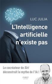 L'intelligence artificielle n'existe pas - Couverture - Format classique
