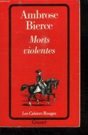 Morts Violentes - Couverture - Format classique