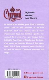 Charmed t.2 ; le baiser des tenebres - 4ème de couverture - Format classique