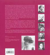 Une muse de la belle epoque : marie de regnier - 4ème de couverture - Format classique
