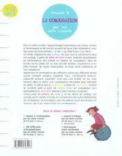 Jouons à la conjugaison par les mots croisés ; 8/12 ans - 4ème de couverture - Format classique