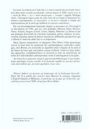 Le Surrealiste Et La Mort - 4ème de couverture - Format classique
