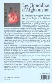 Les Bouddhas D'Afghanistan ; La Formidable Histoire De Ces Geants De Pierre - 4ème de couverture - Format classique