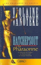 Coffret 3 exemplaires hatchepsout la pharaonne - Intérieur - Format classique