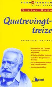 Quatrevingt-treize, de Victor Hugo - Couverture - Format classique