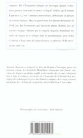 La Derniere Estive - 4ème de couverture - Format classique