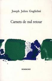 Carnets de nul retour - Intérieur - Format classique
